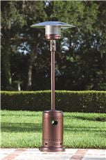 FIRE SENSE® COMM LP GAS PATIO HTR,HAMMER TONE BRONZE