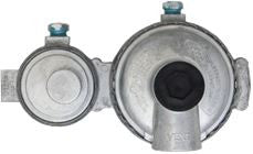 TWIN STAGE REG.1/4 INFNPT INX3/8 INFNPT OUT VENT,11 INWC
