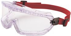 NORTH V-MAXX® GOGGLE,DIRECT VENT,CLEAR POLYCARBONATE LENS