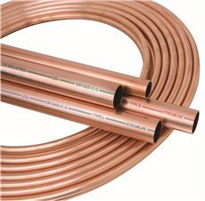 CPR TUBING, TYPE K, SOFT, 3/8 IN IDX100 FT.