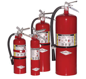 20# Fire Extinguisher with Aluminum Valve, A,B,C Rated