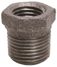 BLK MALLEABLE BUSHING 3/4 INX1/2 IN