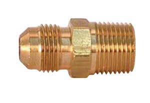 Male connector 1/2 X 3/8 (25 per box)