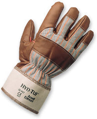 Hyd-Tuf Nitrile Coated Glove,L Safety Cuff*Soft Jersey Lining