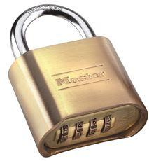 MAST #175 COMBINATION LOCK BRASS