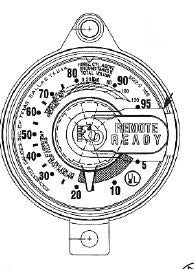 Junior  JR  Rochester Dial for verticle 420 lb cylinder