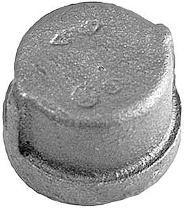 "1 1/4"" forged steel pipe cap 3000#"