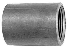 "1"" Standard black coupling (5 per bag)"