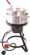 FISH COOKER W/ STAND 15 IN