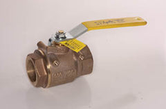 1 1/2 Full port Apollo bronze ball valve