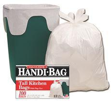 HANDI-BAG TRASH BAGS 13 GA 60 PER PACK