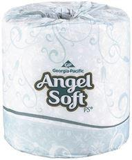 GP ANGEL SOFT BATHROOM TISSUE 2 PLY 20 ROLLS PER CASE