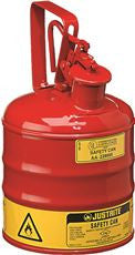 TYPE 1 RED STEEL SAFETY CAN FOR FLAMMABLES 1 GA