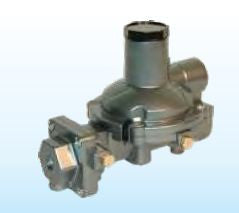 1/4x1/2 FPT Compact Twin 750K regulator vent opposite taps