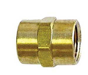 1/4 Hex Brass Coupling