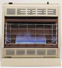 Empire 30M BTU blue flame vent free with thermostat propane
