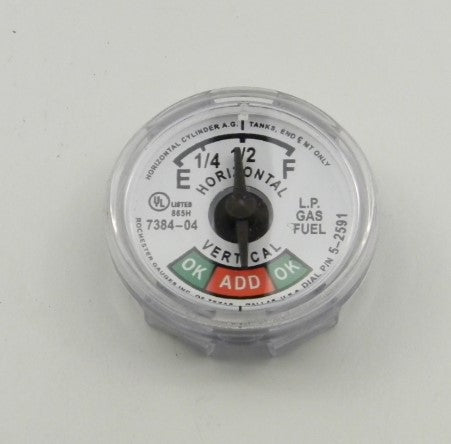 "Snap On Dial for 33# 3/4"" Series 7384 Gauge"