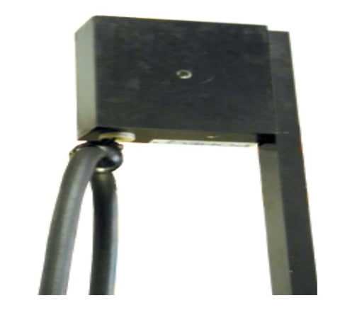 "OPW Spring Loaded Cable Wind Hose Retractor with 78"" post"