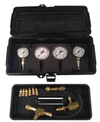 "Type A Test Kit with 300 PSI 30 PSI, 5 PSI - 35"" WC Gauges"