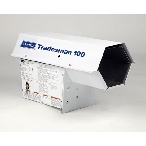 Tradesman 100 Forced Air Heate 100M BTU - LP