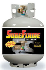 20# Steel DOT Cylinder with OP Sureflame Float Gauge