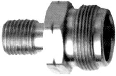 "9/16 LH threadx1""20 male with check valve and O ring"