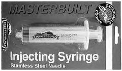 Injector syringe with SS needl (1 oz)