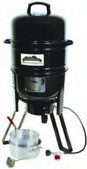 LP Grill/ Smoker/Cookr Sys. w/Flm Dsk*10.5 Qt Pot