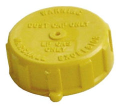 "1-3/4"" Acme Plastic Cap with 1 1/4"" Metal Ring and Chain"