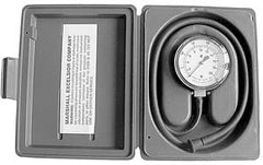 Gauge test kit 0-35 WC w/gray case and hose and adaptor