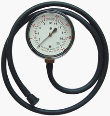 Test gauge 0-35 WC NO case includes hose and adaptor ME