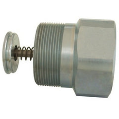 "1-1/4"" FPT x 1-1/4"" MPT 42 GPM Excess Flow Valve, Steel"