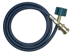 5' x 1/4 QCC1 Extension Hose 1-5/16 male x female green nut