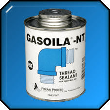 Gasiola NT Pipe Sealant 1/2 Pint Brush Top