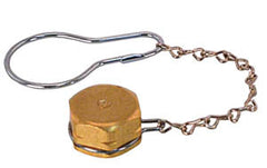 Propane Cap and Chain CGA# 555