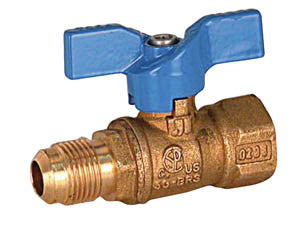 1/2 flare x 1/2 female Ball Valve (14 per Box)