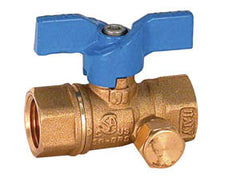 1/2 MFLxMFL side pressure tap Ball Valve (12 per box)