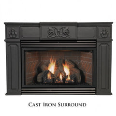 Cast Iron Surround,Traditional for DV-35IN, 6 inch