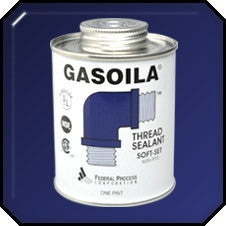 Gasiola Soft-Set with Teflon 1/4 Pint Brush Top Sealant