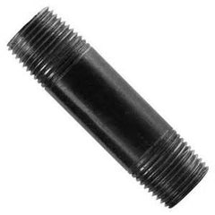 "1/2"" X 8"" STD BLACK NIPPLE"