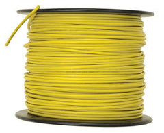 2500ft roll Tracer Wire 14 AWG 30 mil yellow copper clad stee