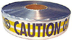 "TAPE-MARKING 2"" X 1000' ROLL UNDERGROUND DETECTION"