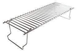 RACK-WARMING FOR BBQ GRILL CHROME PLATED STEEL
