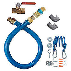 "CONNECTOR-KIT SS 3/4"" W/ QUICK DISCONNECT, RESTRAINT 60"" OL"