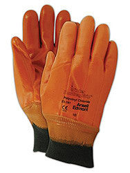GLOVE-MONKEY GRIP KNIT WRIST FOAM INSULATED WINTER