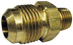 "CONNECTOR-1/2"" OD FLARE X 1/4"" MPT"
