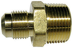 "CONNECTOR-1/2"" OD FLARE X 3/4"" MPT"