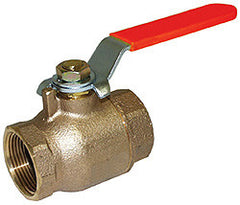 "VALVE-BALL 1-1/4"" FP BRASS UL LIQUID RATED 600 WOG"