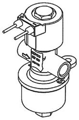 VALVE-SOLENOID LOCK-OFF W/FILTER