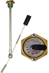 "GAUGE-FLOAT JR LP 30"" DIA 1"" MPT"